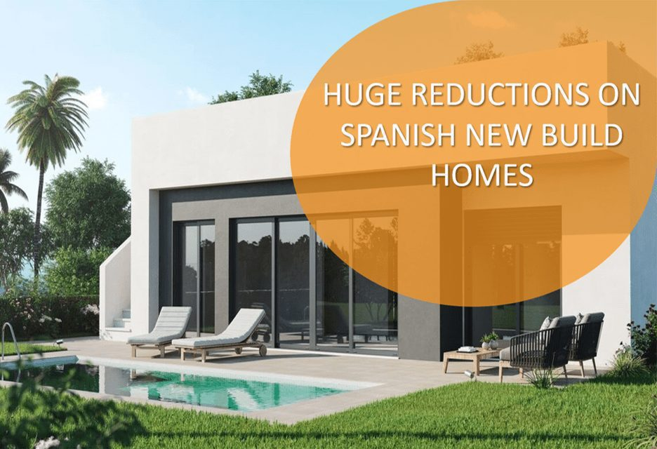 New Build Property Bargains For Sale in Spain